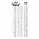 THS004 Stampers Anonymous Tim Holtz Layering Stencil - Stripes